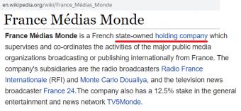 FranceMediaMonde